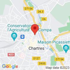 Carte / Plan Musée des beaux-arts de Chartres