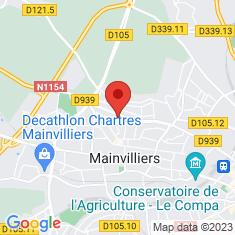 Carte / Plan Mainvilliers (Eure-et-Loir)