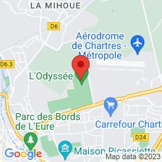 Carte / Plan L'Odyssée (Chartres)