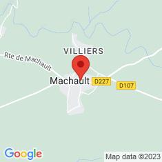 Carte / Plan Machault (Seine-et-Marne)