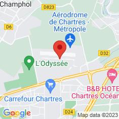 Carte / Plan Base aérienne 122 Chartres-Champhol