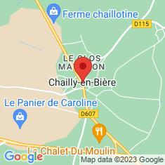 Carte / Plan Chailly-en-Bière