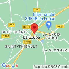 Carte / Plan La Loupe