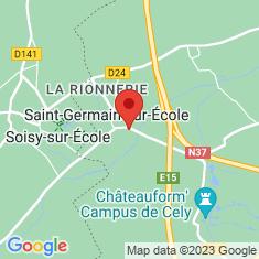 Carte / Plan Saint-Germain-sur-École