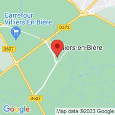 Carte / Plan Villiers-en-Bière