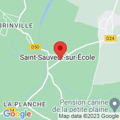 Carte / Plan Saint-Sauveur-sur-École