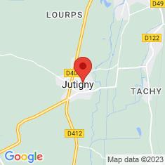 Carte / Plan Jutigny