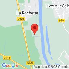 Carte / Plan La Rochette (Seine-et-Marne)