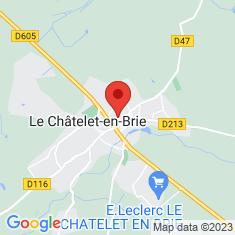 Carte / Plan Le Châtelet-en-Brie