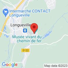 Carte / Plan Musée vivant du chemin de fer (Longueville)