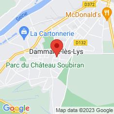 Carte / Plan Dammarie-les-Lys