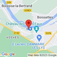 Carte / Plan Gare de Vosves