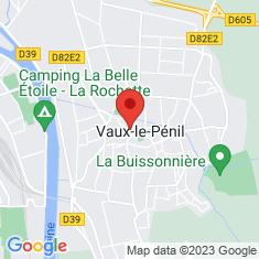 Carte / Plan Vaux-le-Pénil
