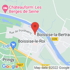 Carte / Plan Boissise-le-Roi