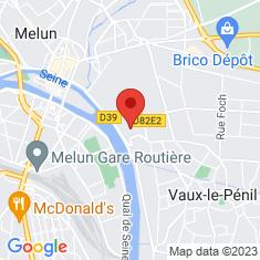 Carte / Plan Château de Vaux-le-Pénil