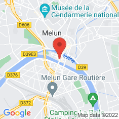 Carte / Plan Prieuré Saint-Sauveur