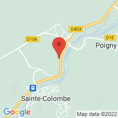Carte / Plan Sainte-Colombe (Seine-et-Marne)