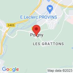 Carte / Plan Poigny