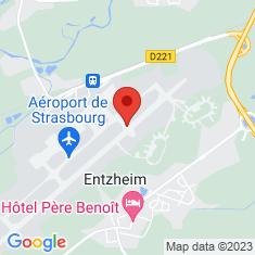 Carte / Plan Aéroport de Strasbourg-Entzheim