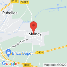 Carte / Plan Maincy