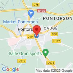 Carte / Plan Gare de Pontorson - Mont-Saint-Michel