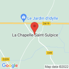 Carte / Plan La Chapelle-Saint-Sulpice