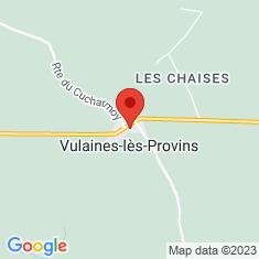 Carte / Plan Vulaines-lès-Provins