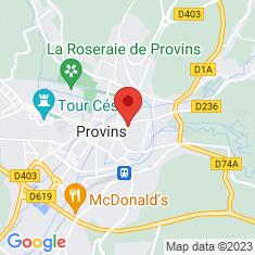Carte / Plan Église Saint-Ayoul de Provins