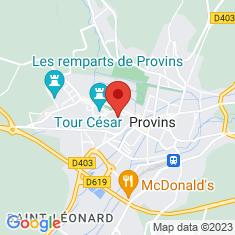 Carte / Plan Chapelle comtale de Provins