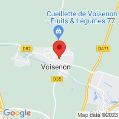 Carte / Plan Voisenon (Seine-et-Marne)