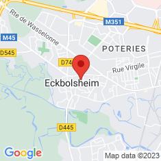 Carte / Plan Eckbolsheim