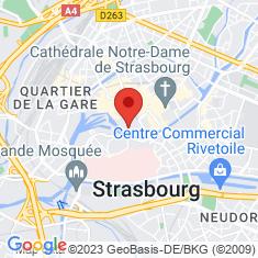 Carte / Plan Église Saint-Thomas de Strasbourg
