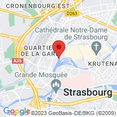 Carte / Plan Commanderie Saint-Jean (Strasbourg)