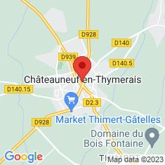 Carte / Plan Châteauneuf-en-Thymerais