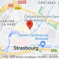 Carte / Plan Le Mont des Oliviers (cathédrale de Strasbourg)