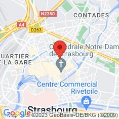 Carte / Plan Strasbourg