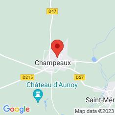 Carte / Plan Champeaux (Seine-et-Marne)