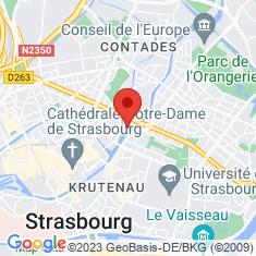 Carte / Plan Église Saint-Paul de Strasbourg