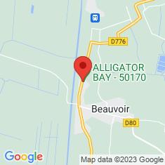 Carte / Plan Alligator Bay