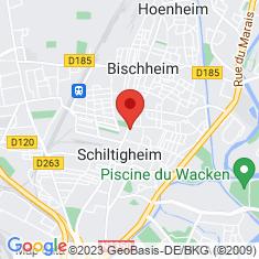 Carte / Plan Schiltigheim