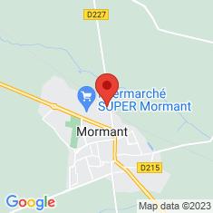 Carte / Plan Gare de Mormant