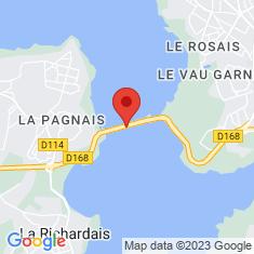 Carte / Plan Usine marémotrice de la Rance