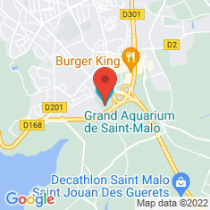 Carte / Plan Grand aquarium Saint-Malo