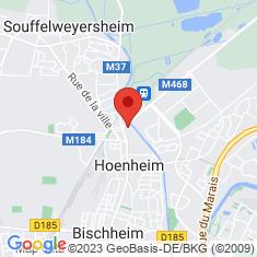 Carte / Plan Hœnheim
