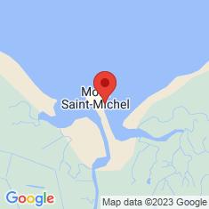 Carte / Plan Fortifications du Mont-Saint-Michel
