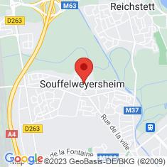 Carte / Plan Souffelweyersheim