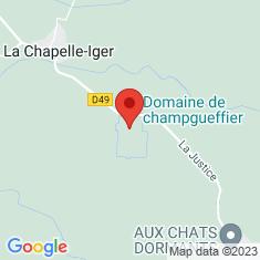 Carte / Plan Château de Champgueffier