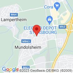 Carte / Plan Mundolsheim