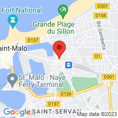 Carte / Plan Saint-Malo