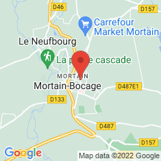 Carte / Plan Mortain